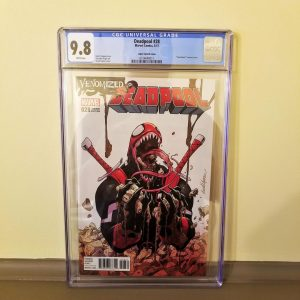 Deadpool #28 Venomized Variant Front