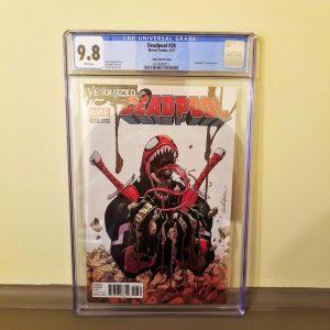 Deadpool #28 Venomized Variant Front