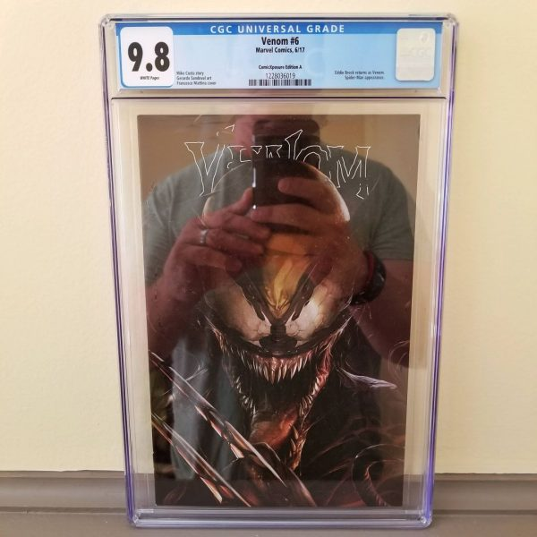Venom #6 Mattina ComicXposure Edition A CGC 9.8 Front