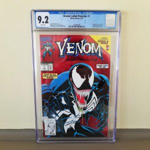 Venom: Lethal Protector #1 CGC 9.2 Front