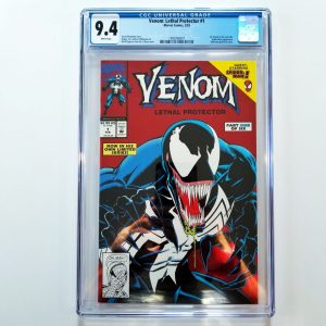 Venom: Lethal Protector #1 CGC 9.4 Front