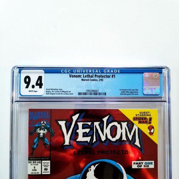 Venom: Lethal Protector #1 CGC 9.4 Front Label
