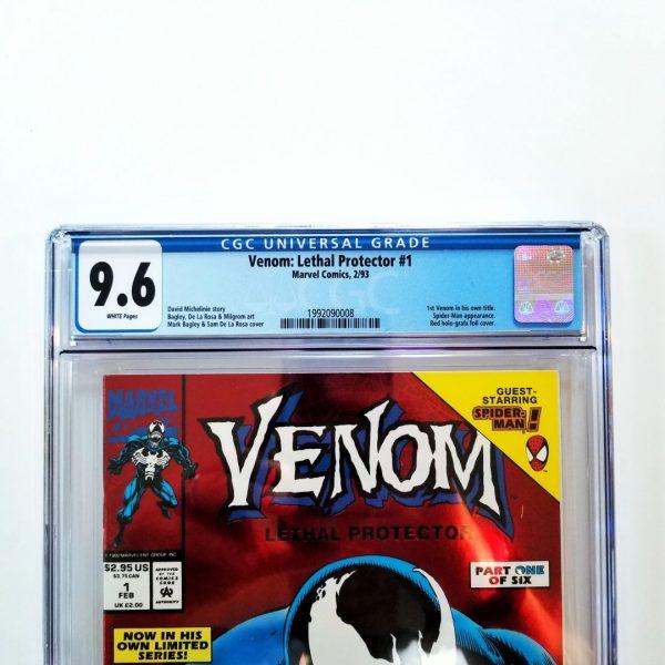 Venom: Lethal Protector #1 CGC 9.6 Front Label