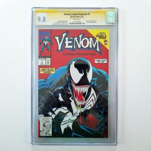 Venom: Lethal Protector #1 CGC 9.8 Signed By Mark Bagley Front