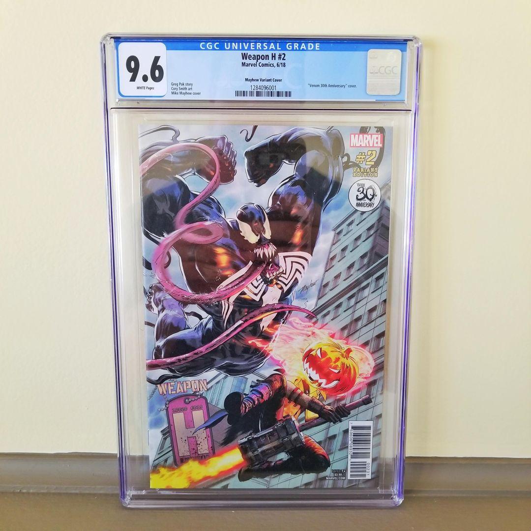 Weapon H #2 Venom 30th Anniversary Variant CGC 9 6 NM+