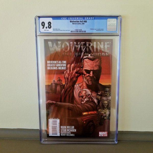 Wolverine (Vol. 3) #66 CGC 9.8 Front