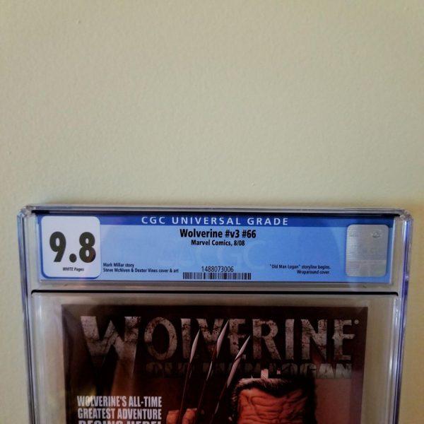 Wolverine (Vol. 3) #66 CGC 9.8 Front Label