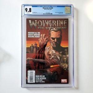 Wolverine (Vol. 3) #66 CGC 9.8 NM/M Front