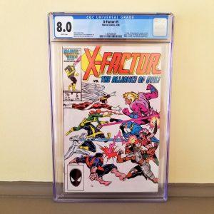 X-Factor #5 CGC 8.0 Front