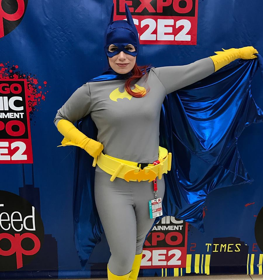 Cosplaying as Batgirl at C2E2