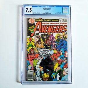 Avengers #181 CGC 7.5 Front