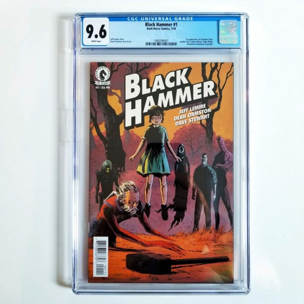 Black Hammer #1 CGC 9.6 Front