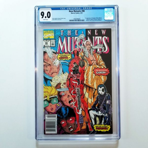 New Mutants #98 CGC 9.0 Front