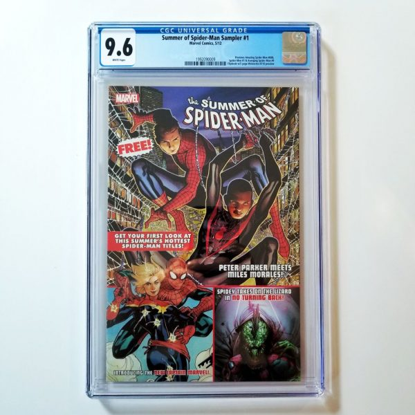 Summer of Spider-Man Sampler #1 CGC 9.6 Front