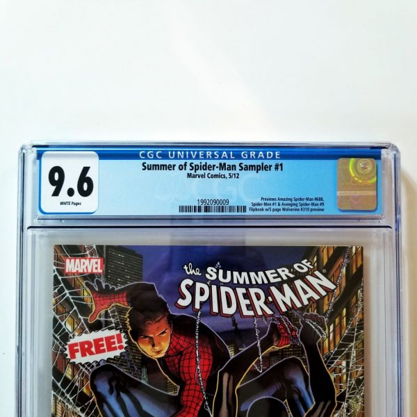 Summer of Spider-Man Sampler #1 CGC 9.6 Front Label