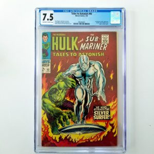 Tales to Astonish #93 CGC 7.5 Front