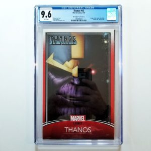 Thanos #13 Trading Card Variant CGC 9.6 Front