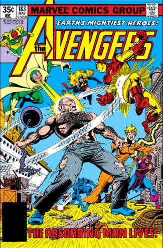 Avengers (1979) #183 Cover