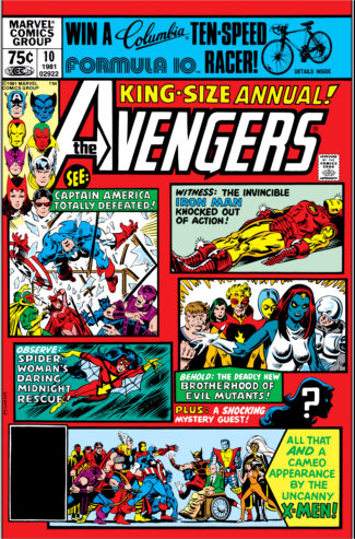 Avengers Annual (1981) #10 Cover