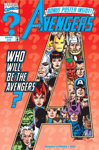 Avengers (1998) #4 Cover