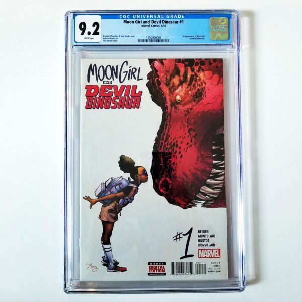 Moon Girl and Devil Dinosaur #1 CGC 9.2 Front