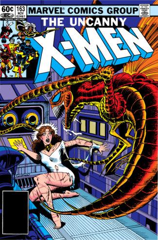 Uncanny X-Men (1982) #163 Cover