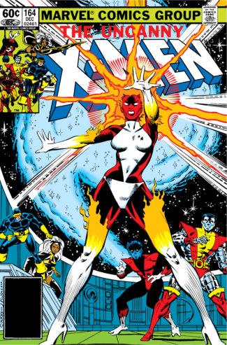 Uncanny X-Men (1982) #164 Cover