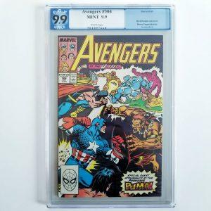 Avengers #304 PGX 9.9 Front