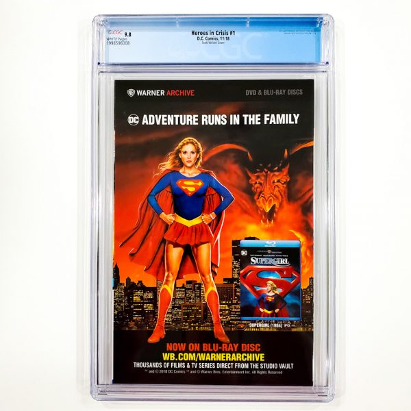 Heroes in Crisis #1 CGC 9.8 NM/M Sook Variant Back