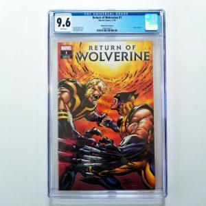 Return of Wolverine #1 CGC 9.6 eBay Variant Front