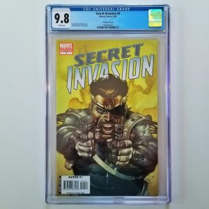 Secret Invasion #4 CGC 9.8 Leinil Francis Yu Variant Front