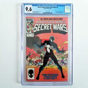 Secret Wars #8 CGC 9.6 Front