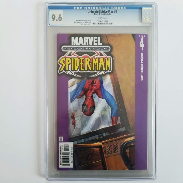 Ultimate Spider-Man #4 CGC 9.6 NM+ Front