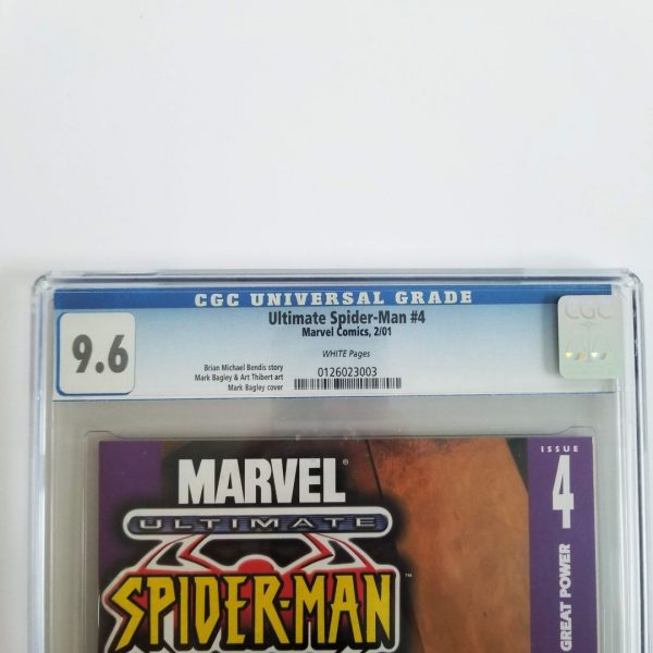 Ultimate Spider-Man #4 CGC 9.6 NM+ Front Label