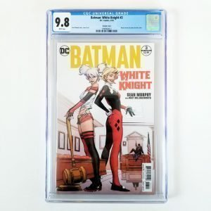 Batman: White Knight #3 CGC 9.8 Variant Front