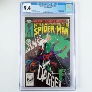 Spectacular Spider-Man #64 CGC 9.4 Front