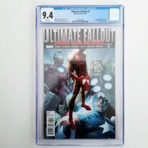 Ultimate Fallout #4 CGC 9.4 Front