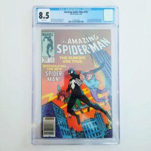 Amazing Spider-Man #252 CGC 8.5 Front