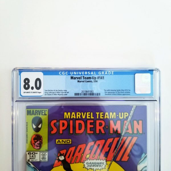 Marvel Team-Up #141 CGC 8.0 VF Front Label