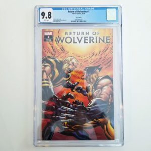 Return of Wolverine #1 CGC 9.8 eBay Variant Front