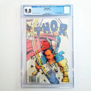 Thor #337 CGC 9.0 VF/NM Front