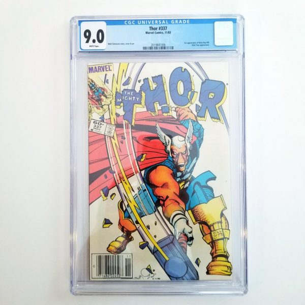 Thor #337 CGC 9.0 VF/NM Front