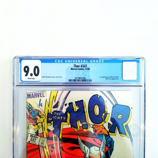 Thor #337 CGC 9.0 VF/NM Front Label