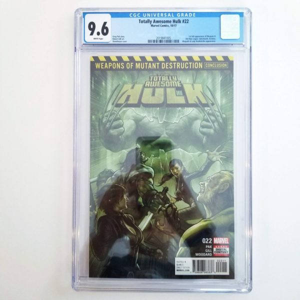 Totally Awesome Hulk #22 CGC 9.6 NM+ Front