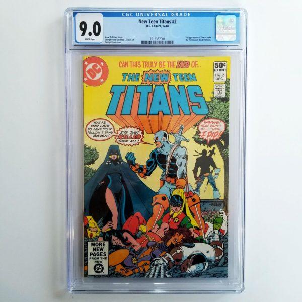 New Teen Titans #2 CGC 9.0 Front