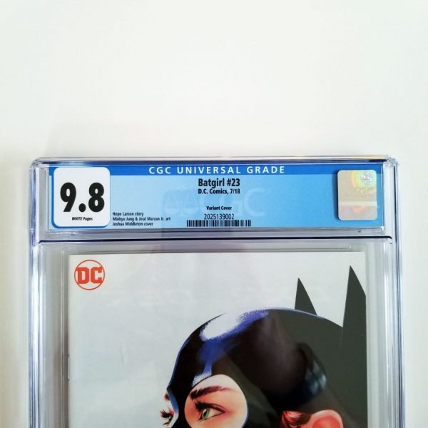 Batgirl #23 Middleton Variant CGC 9.8 Front Label