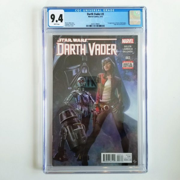 Darth Vader (2015) #3 CGC 9.4 NM Front