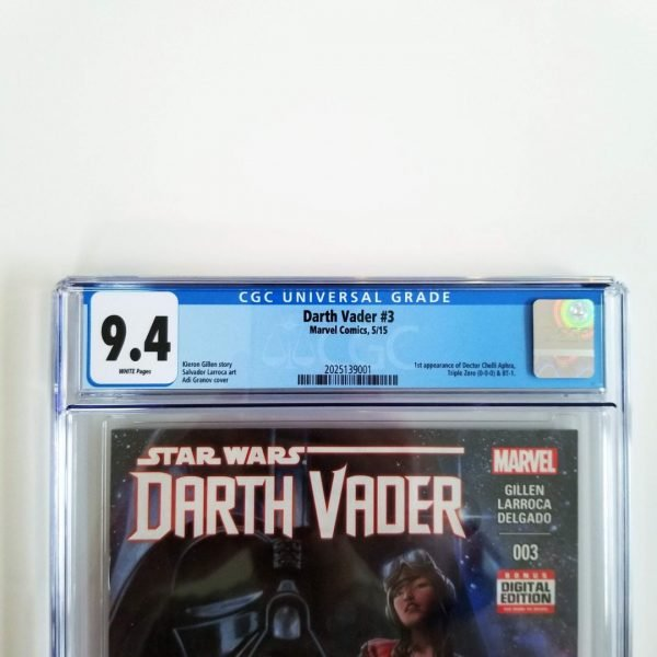 Darth Vader (2015) #3 CGC 9.4 NM Front Label