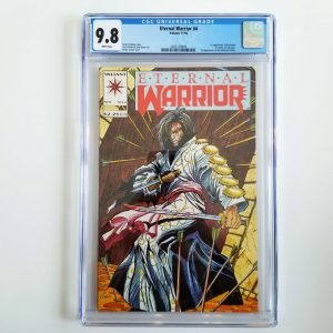 Eternal Warrior #4 CGC 9.8 NM/M Front
