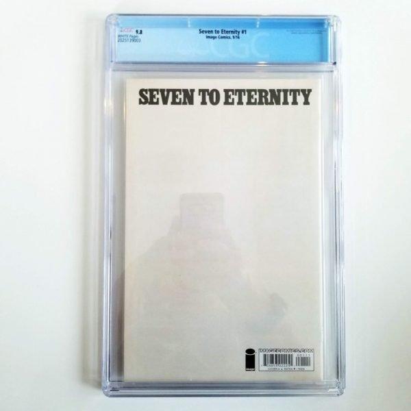 Seven to Eternity #1 CGC 9.8 NM/M Back